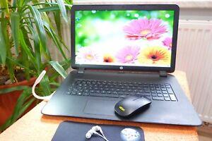 HP 17 P l 17 Zoll l 500GB SSD I AKKU NEU l Windows 10 l 8GB RAM l A6 QUAD l HDMI