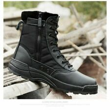 Men Military Tactical Boots Outdoor Waterproof Hiking Trekking Shoes Sneakers Us
