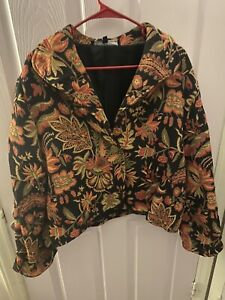 Painted Pony Womens Size XL Tapestry Jacket USA