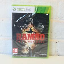 RAMBO THE VIDEO GAME - MICROSOFT XBOX 360 GAME - NEW & SEALED