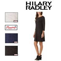 NEW Hilary Radley Ladies' French Terry 3/4 Quarter Sleeve Dress Variety of C13