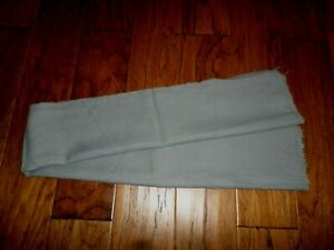 GENUINE SWISS MILITARY ARMY GREY WOOL SCARF ORIGINAL SCARVES