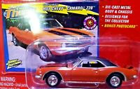Johnny Lightning CHEVY THUNDER 1968 Chevy Camaro Z28 RED 1/64 Scale Diecast