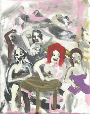 The Dim Cafe by william mayer   new york city artist