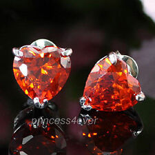 White Gold Plated Ruby Fashion Jewellery