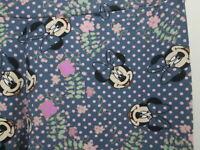 OS Lularoe Minnie Mouse Leggings Blue Pink Disney One Size