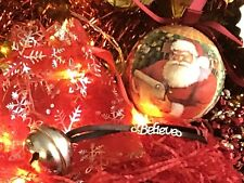 🎄Handmade Polar Express Christmas Believe Bell/ Stocking Filler / Gift🎁