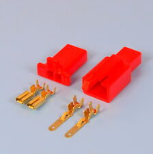 Quality 2 Way 2.8mm Mini Electrical Connector Kit Red Motorbike Motorcycle Car