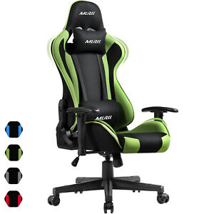 Computer Gaming Chair Office Racing Style Recliner Seat Swivel High-back Chair