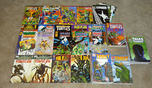 Teenage Mutant Ninja Turtles HUGE LOT Of 91 TMNT Usagi Casey Tales 1st Prints NR