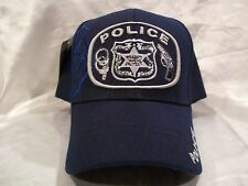 Police Serve & Protect Ball Cap Hat In Blue New Nwt H21