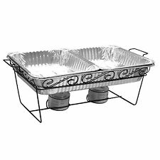 Decorative Wire Chafing Rack Black 12 pk New