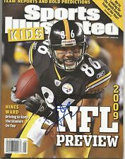 Hines Ward Pittsburgh Steelers Signed Autographed Sports Illustrated For Kids