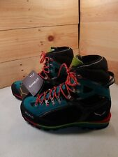 Womens Sz10.5 Salewa Condor EVO GTX w/ Cactus Venom Mountain Footwear 61321 5539