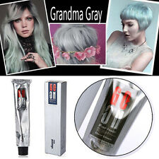 POPULAR LIGHT SILVER GRAY COLOR HAIR CREAM Permanent Super Hair Dye 100ML