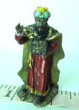 Bethlehem Wise Man King Nativity African American  Christmas Village Merc Asia
