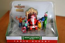 """Lemax Coventry Cove """"Merry Christmas To All"""" Table Accent #63288"""