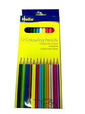 12 x Helix Colouring Pencils-2875