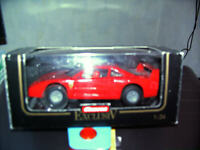 Carrera 124 Exc.  Ferrari F40 - mit Schachtel  !!!