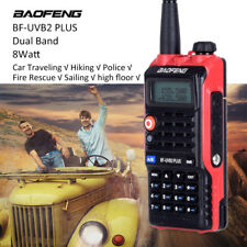 BAOFENG BF-UVB2 PLUS Walkie Talkie Radio VHF UHF 8W For Driving Travel Sailing