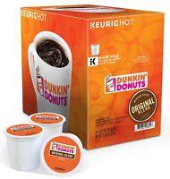 Dunkin Donuts Original Blend Coffee Keurig K cup Dark Roasted 24/96 pod