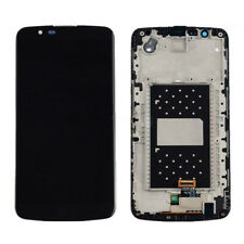 OEM LCD Screen and Digitizer Assembly + Frame Replacement Part Black for LG K10