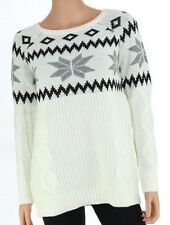 NWT ~ Heather B - 'Fair Isle' Nordic Cable Knit Sweater ~ (S, M, L)