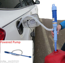 Car Battery Operate Liquid Transfer Pump Siphon Gas Oil Fish Tank Aquarium Water