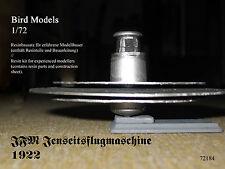JFM au-delà volante 1922 1/72 Bird MODELS resinbausatz/resin kit