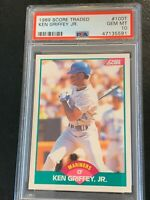 1989 Score Traded Ken Griffey Jr #100 Rookie PSA 10 GEM MINT HOF