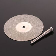 "2"" DIAMOND COATED CUT OFF DISC Grinding Wheel Shank Metal Work Bolt/Rod Trimming"