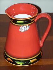 Clay Art JALAPENO Pitcher - 84 ounces