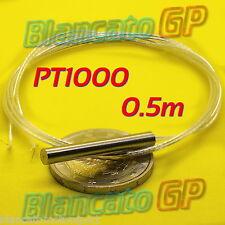 SONDA PT1000 4x30mm 0.5m CLASSE B SENSORE DI TEMPERATURA RTD TERMOMETRO platino