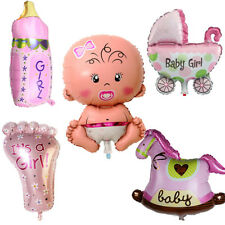 5 Pcs Its A Girl Baby Shower Celebrations Foil Balloons Birthday PartyDecoration