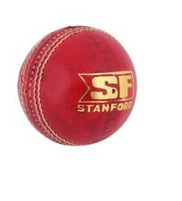 Stanford Leather Cricket Ball (5.1 Oz) Red Color For Cricket Match Playing India