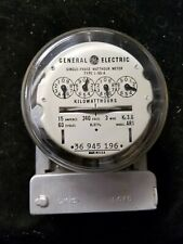 Vintage General Electric Single Phase Watthour Meter Type I-55-A 36945196