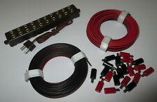 """Plug (2,6mm), Twin Strands And Distributor Plate with Plug """" """" New"""