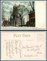 INDIANA Postcard - Fort Wayne, First Presbyterian Church F20