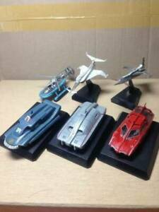 Konami SF Movie Selection CAPTAIN SCARLET 6 Models set ! Japan Gerry Anderson