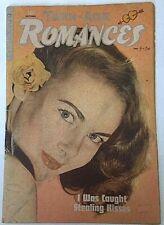 RARE Teen-Age Romances #6 ~ Matt Baker ~ 1949 Golden Age ~ African Am ~ Judaica