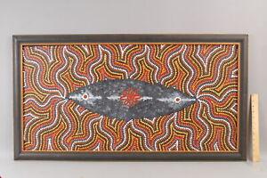 Authentic MARY NUNGARRAYI DIXON Australian Aboriginal MILKY WAY Acrylic Painting