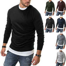 Jack & Jones Herren Strickpullover Basic Sweater Herrenpullover Strick Pulli