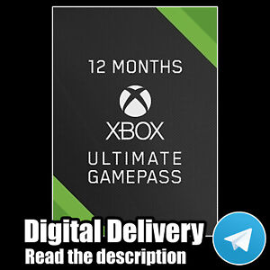 XBOX LIVE 12 MONTHS GOLD + Game Pass (Ultimate) FAST DELIVERY 24/7