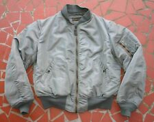 Usaf Ma-1 Flight Jacket Large Size 1950s Albert Turner & Co.& In Fine Condition