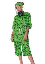 Billie Eilish Classic Child Green Costume Girls NEW