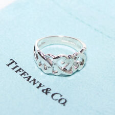TIFFANY & CO. Sterling Silver Paloma Picasso Loving Heart Ring