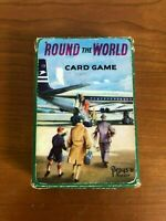 Rare 1961 Pepys Round The World Card Game