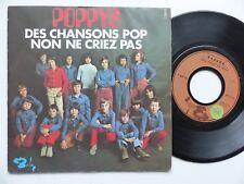 POPPYS Des chansons pop nON NE CRIEZ PAS 61490    RRR