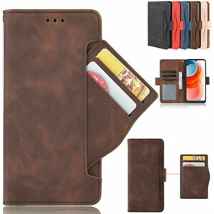 For Motorola Moto One 5G Ace Shockproof Leather Card Slots Wallet Case Cover