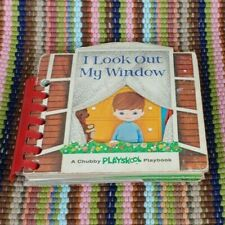 VTG CHUBBY PLAYSKOOL PLAYBOOK LOOK OUT MY WINDOW 1964 Board Activity Book